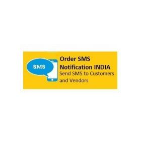 Order Sms Notifications for Custome